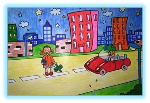 Новый год дети дорожное движение